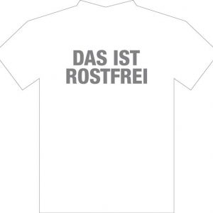 Rostfrei Tshirt White